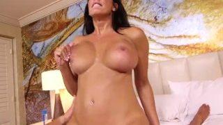 Gorgeous Big Boobs Cam Girl Cougar Loves Fucking